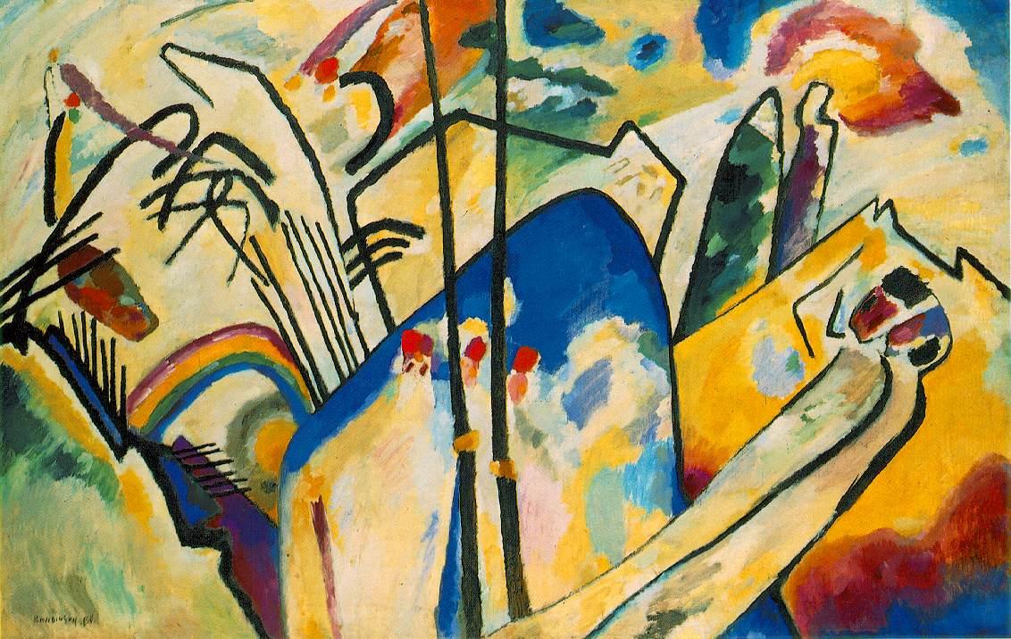 Wassily Kandinsky Einige Von Kandinsky S Werken